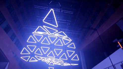 Grid Kinetic Light Installation