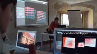 Taller video Mapping Santander