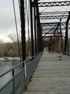 walking bridge.
