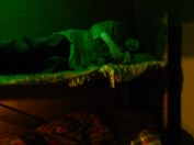 The opium den. I kid not.