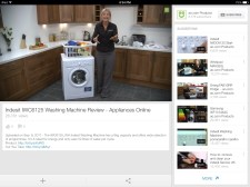 Then, on Friday night, we did a load of laundry. I had to take to YouTube to learn how to use the washer/dryer combo.