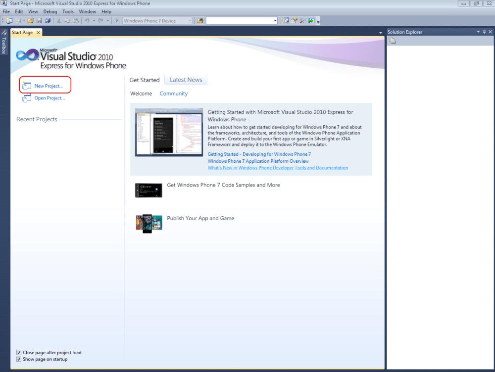 Windows Phone 7 Game Development Tutorial Lesson1 (5/6)