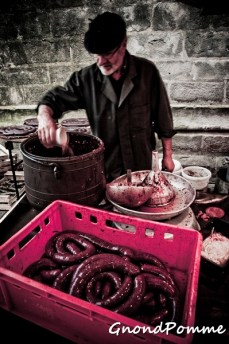 bloody sausages