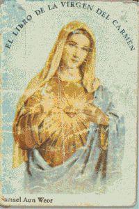 Portada original del libro de la Virgen del Carmen del VM Samael Aun Weor