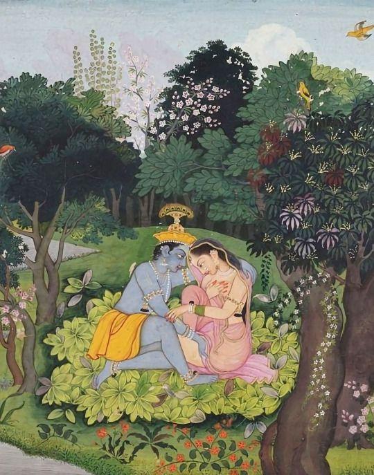 krishna-radha-forest