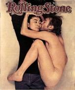 Some took offense to John Lennon's nudity, likely because of who he's hugging (Rolling Stone)