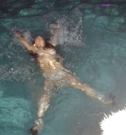 Caught swimming in the buff (Pin It)