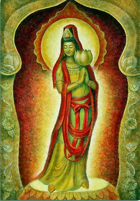 Shechinah-Kuan-Yin