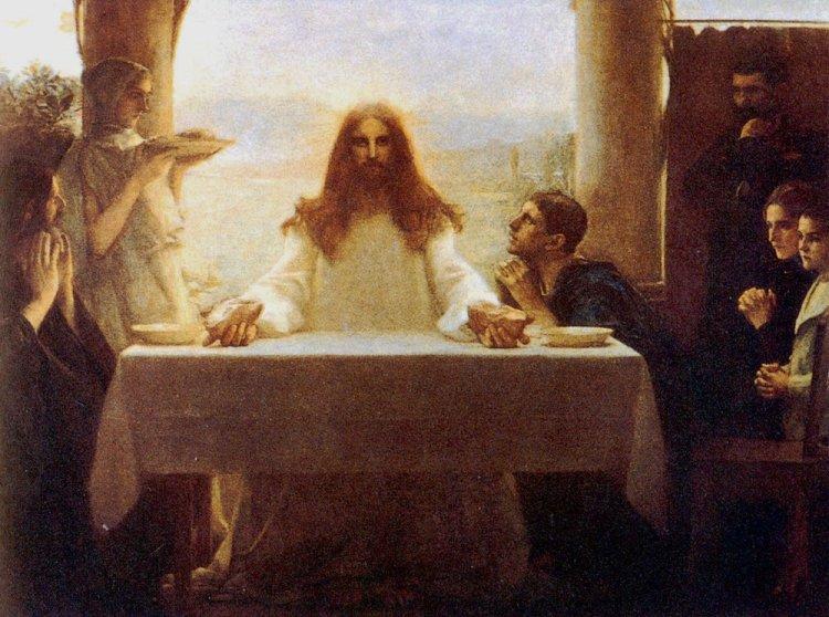 dagnan-bouveret_christ_and_the_disciples_at_emmaus-724122