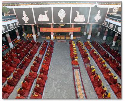 tibetan-monks