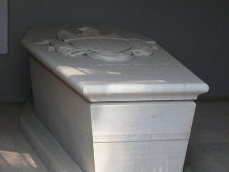Sarcophagus george washington