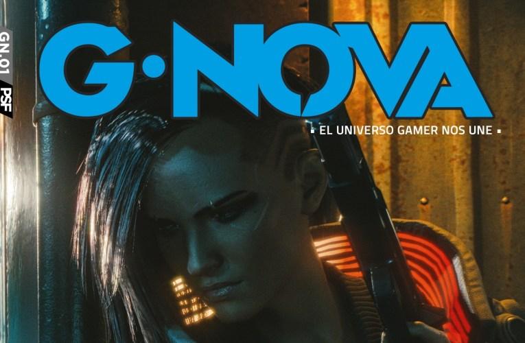Presentamos G*NOVA MAGAZINE: Una nueva revista sobre videojuegos y Cultura Pop.