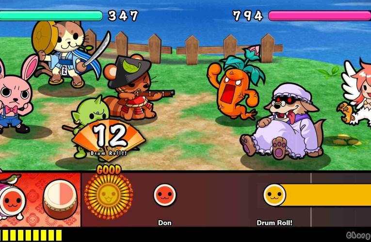 Taiko No Tatsujin: Rhythmic Adventure Pack lanzará en Nintendo Switch el 3 de diciembre