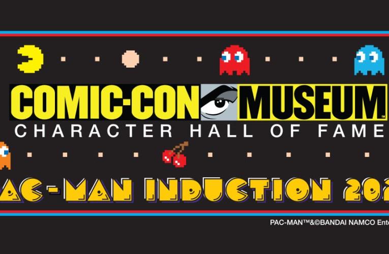 PAC-MAN, la super estrella original del videojuego, será introducida al Salón de la Fama de los Personajes del Museo Comic-Con.