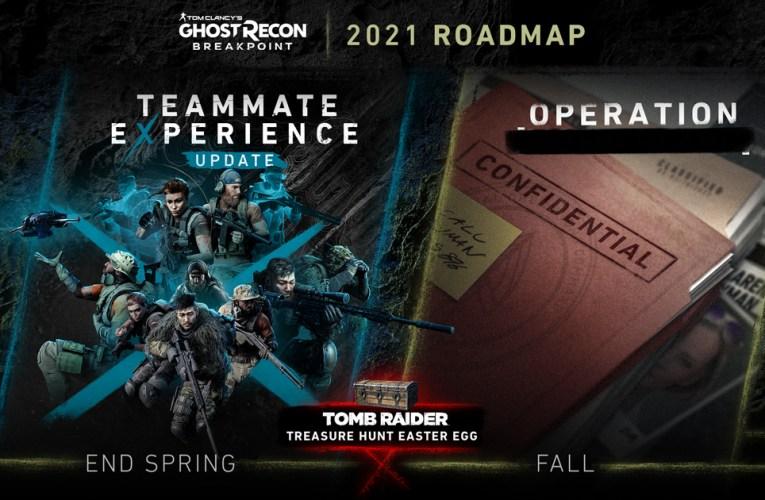 TOM CLANCY'S GHOST RECON® BREAKPOINT anuncia el roadmap para 2021