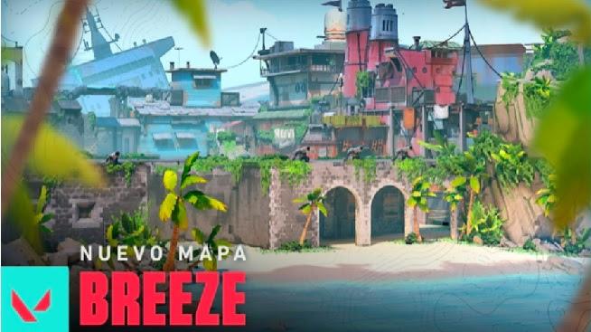 Se viene Breeze, el nuevo mapa competitivo de VALORANT