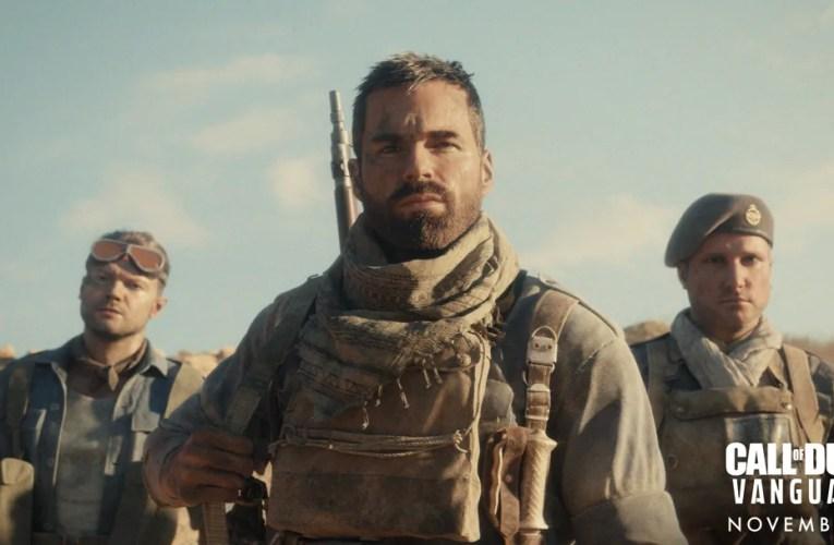Mirá las primeras fotos de Call of Duty Vanguard y no te pierdas el reveal del trailer dentro de Warzone hoy mismo!