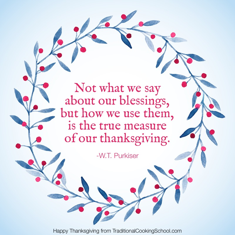 Our We How Blessings Our Not Thank About Them Measure True We Use Say What