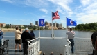 Approaching St. Paul on the Padelford Riverboat