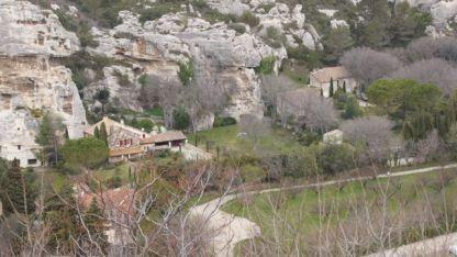 Les Baux - the 'new' village