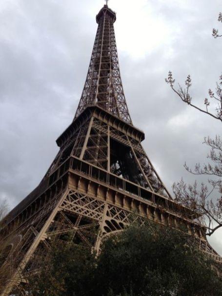Famous Paris landmark