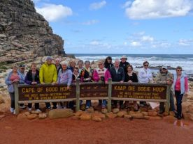 The Yarra Travel Junction Group at The Cape of Good Hope
