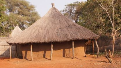 A typical village dwelling
