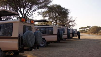 Preparing for our Safari through Tarangire