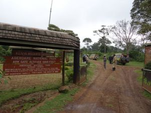 Entrance to Aberdare National Park
