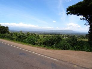 Great view as we came into the Lake Nakuru Valley