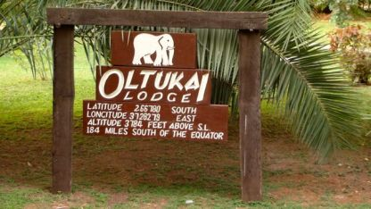 Our lodge is closer to the equator