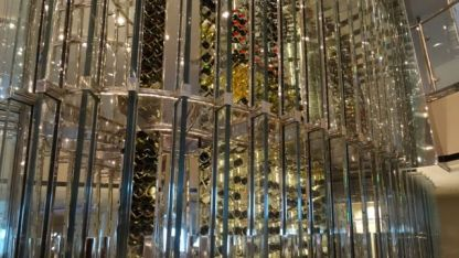 The 'Wine' Wall - 1800 types of wine