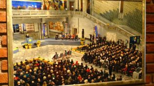 Photo of Nobel Peace Prize Ceremony