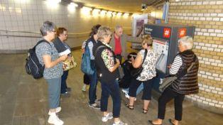 The ubiquitous ticket machine
