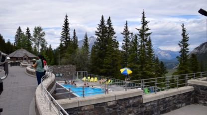Hot Springs in Banff