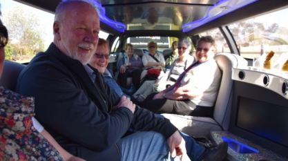Inside our transfer to Tullamarine