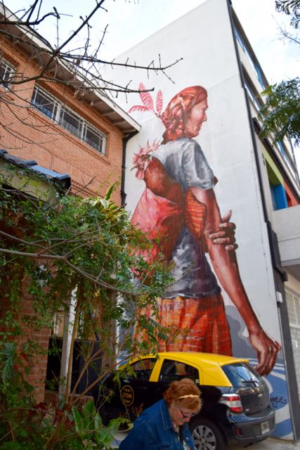 Painted by a well known Australian street painter.