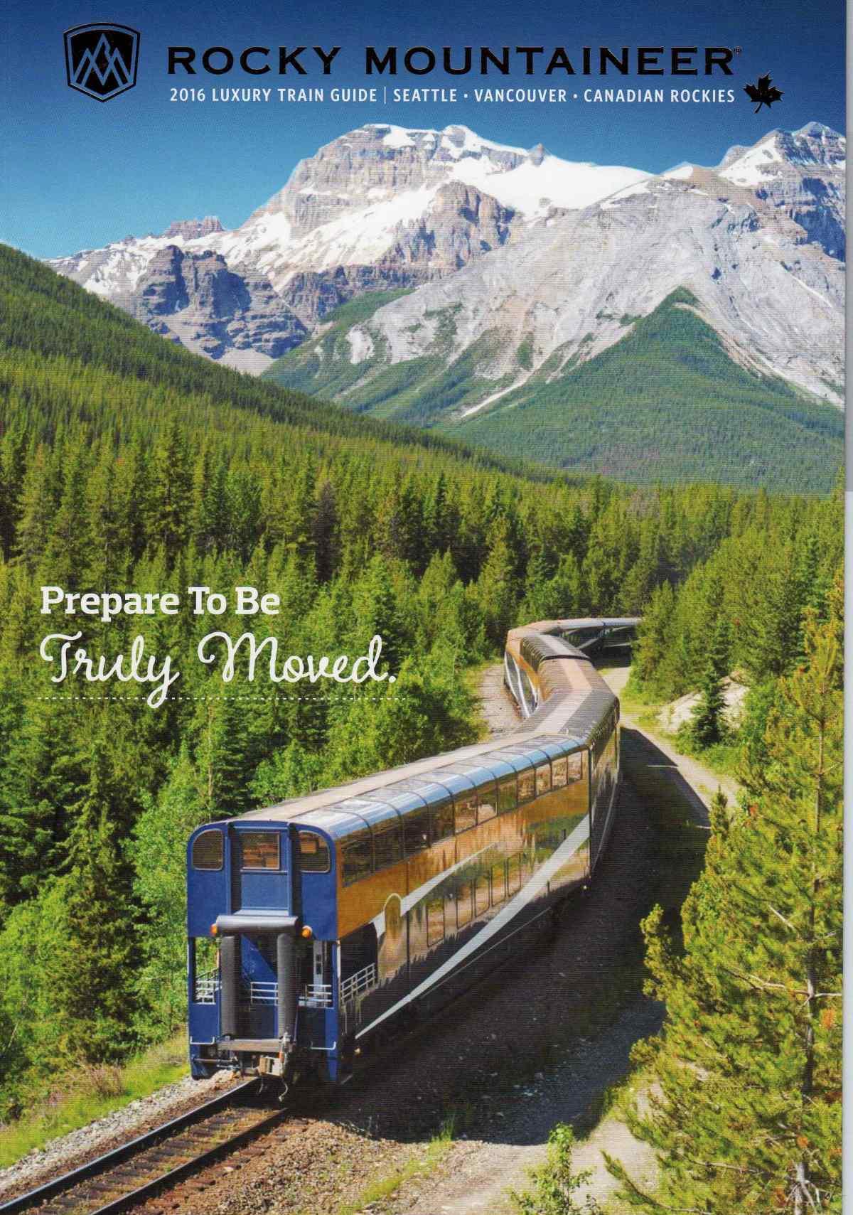 Rocky Mountaineer Brochure