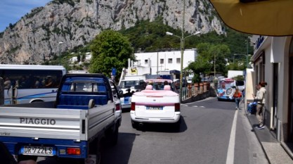 Capri style taxi