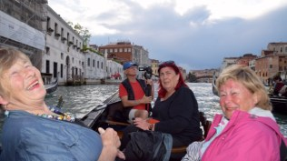 Off we go - on the Grande Canal