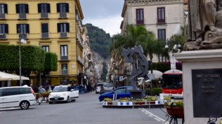Sorrento streets on a Sunday