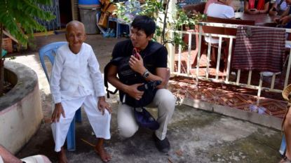 A 86 year old nun.