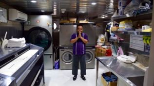 The Laundry guy.