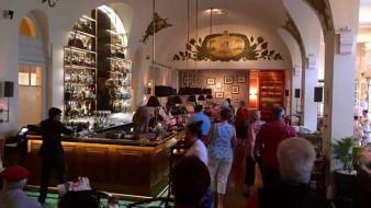 The Elephant Bar at Raffles
