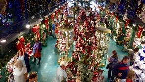 Christmas shopping - anytime.
