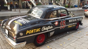 a rather old Pontiac