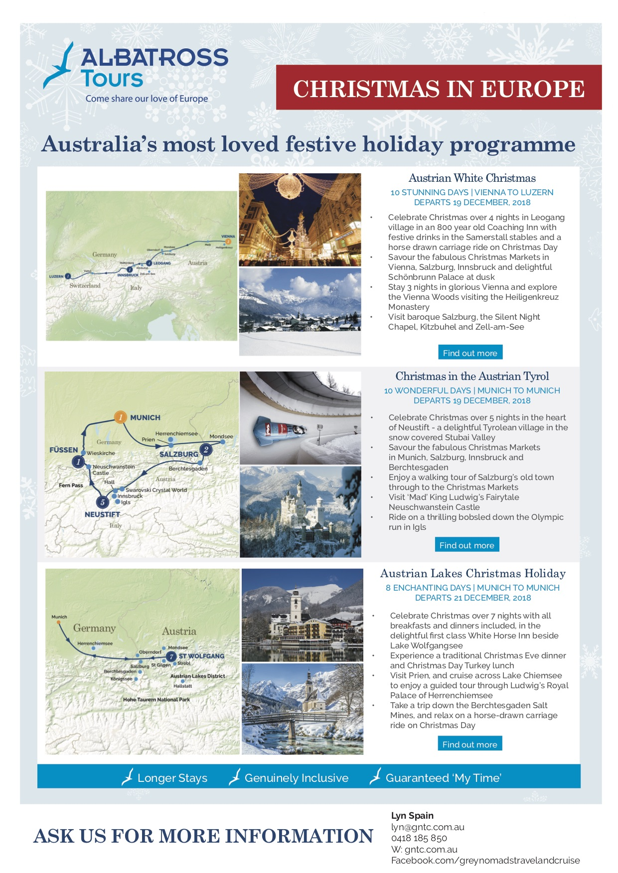 Christmas in Europe | grey nomads travel and cruise – 0418 185 850