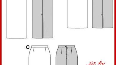 Photo of الباترون الأساسى للجونلة أو الجيبة أو التنورة شرح مفصل straight skirt pattern