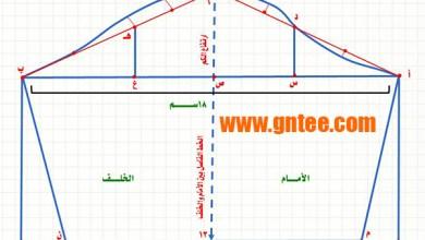Photo of طريقة رسم باتروت الكم الأساسى فى ملابس الأطفال