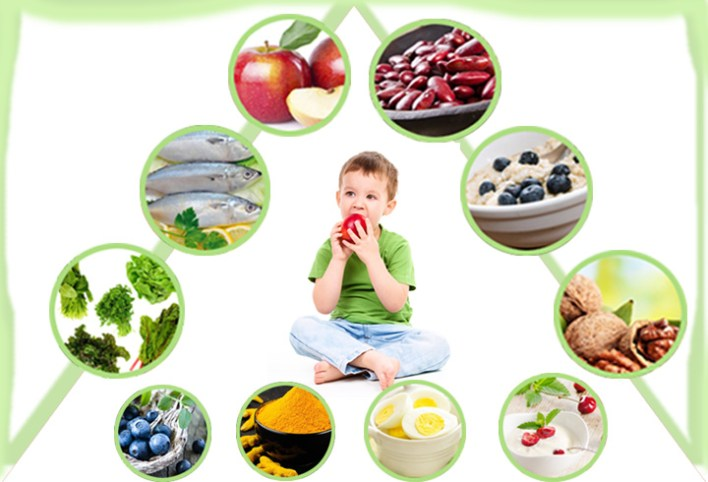 الطعام يساعد على تطور ذكاء الطفل